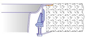 Nerez: zabudování do roviny s pracovní deskou